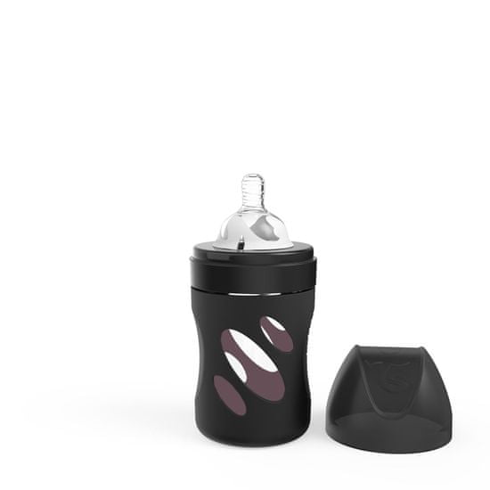 Twistshake otroška steklenička Anti-Colic, steklena 180 ml (S)