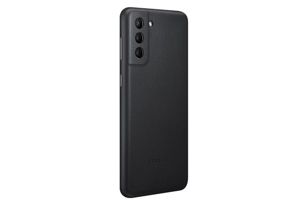 Samsung kožený kryt pro Galaxy S21+ EF-VG996LBEGWW, černá
