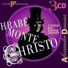 Lukavský Radovan: Hrabě Monte Christo (3x CD) - CD