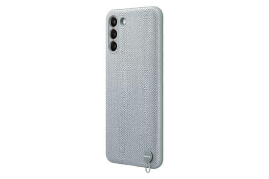 Samsung Galaxy S21 Plus Kvadrat Cover Mint Gray ovitek, siv