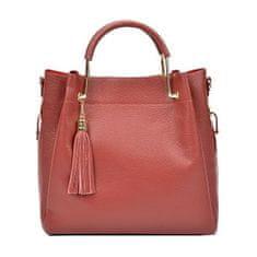 Carla Ferreri Ženska usnjena torbica AW20CF1277 Rosso