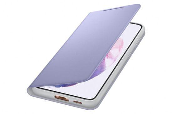 Samsung Galaxy S21 Plus LED View Cover Violet maska, preklopna, ljubičasta