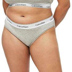 Calvin Klein Dámske nohavičky Bikini QF5644E-020 (Veľkosť XL)