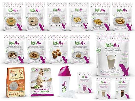 KetoMix Ketonová dieta na 4 týdny