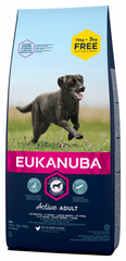 Eukanuba Adult Large Breed 15 kg + 3 kg