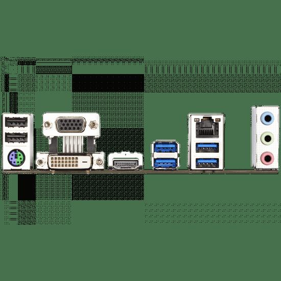 Gigabyte B460M DS3H osnovna plošča, DDR4, SATA3, USB3.2Gen1, HDMI, LGA1200 mATX