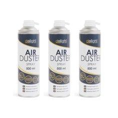 Delight 3x stisnjen zrak v spreju - 500 ml