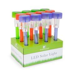 GARDEN OF EDEN 12x solarna LED svetilka več barv