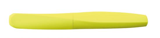 Pelikan Roler Twist naliv pero, Neon žuta + 2 crna uloška