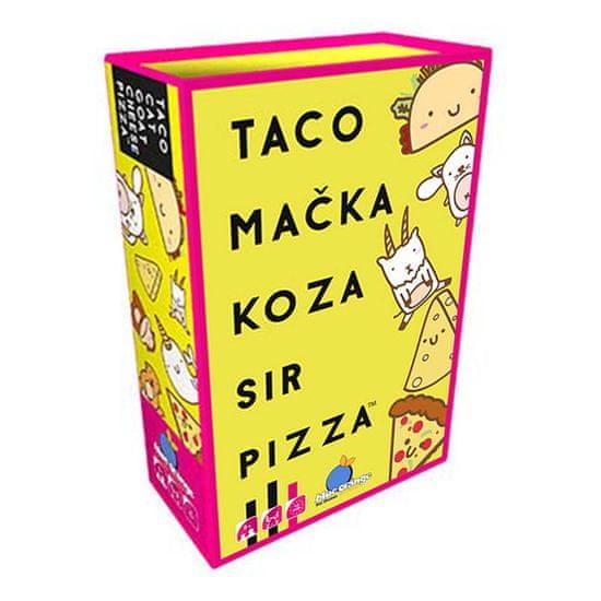 Blue Orange igra s kartami Taco Mačka Koza Sir Pizza