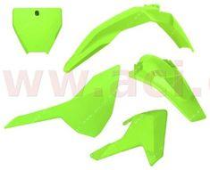 Husqvarna sada plastů Husqvarna, RTECH (neon žlutá, 5 dílů) R-KITHSQ-GF0-516
