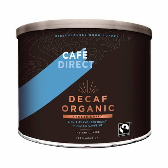 Cafédirect BIO instantná káva bez kofeínu 500g