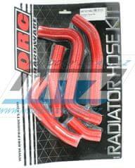 DRC Hadice chladiče Suzuki RMZ250 / 11-12 - červené (sada 5ks) (df4701463) DF4701463