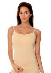 Brubeck Dámská košilka CM00210A : Velikosti - XL, Barvy - tělová