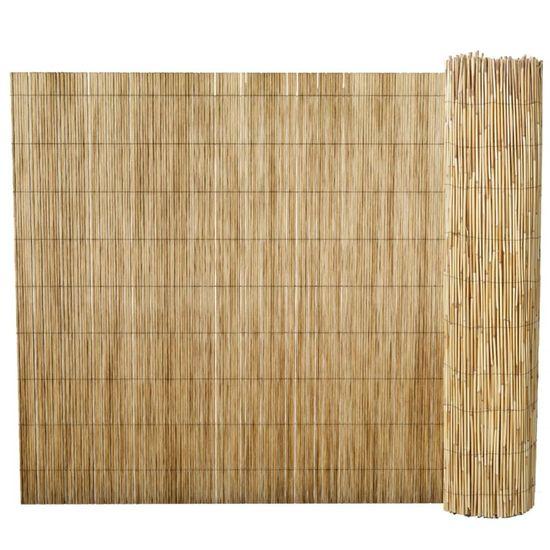 shumee Vrtna ograja iz trsja 100x1000 cm