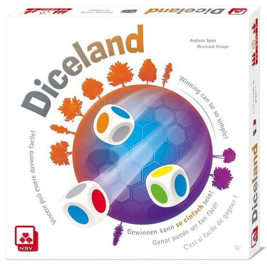 NSV igra s kockami Diceland angleška izdaja