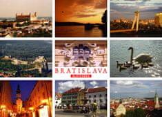 tvorme pohľadnica Bratislava b22