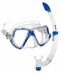 Mares Šnorchlovací set maska+šnorchl Wahoo modrý