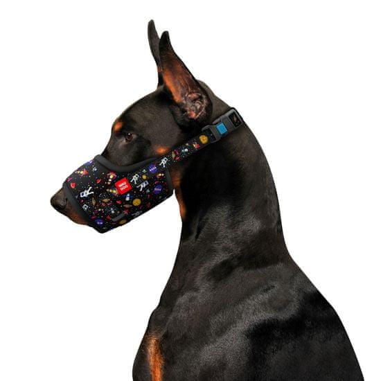 Wau Dog Nylonový náhubek pro psa nastavitelný NASA