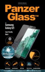 PanzerGlass zaščitno steklo Edge-to-Edge Antibacterial zaščitno steklo za Samsung Galaxy S21 (FingerPrint Ready) 7256