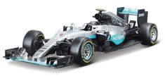 BBurago auto Race F1 Mercedes AMG Petronas W07 hybrid 2016 1:18