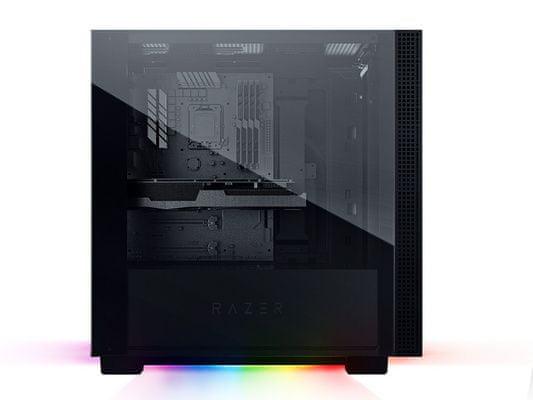 Razer Tomahawk ATX računalniško ohišje, aluminij, kaljeno steklo