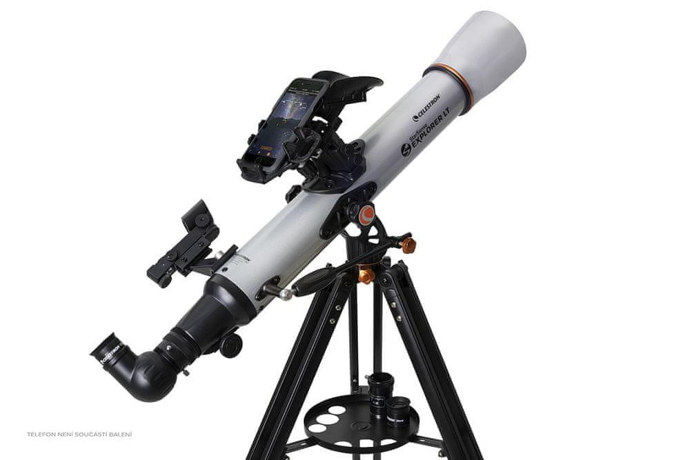 Celestron StarSense Explorer LT 70/700mm AZ teleskop čočkový (22450)