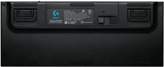 Logitech G915 TKL Lightspeed brezžična tipkovnica, GL Tactile, RGB, črna, US SLO g.