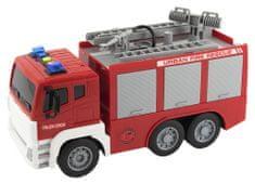 Teddies gasilsko vozilo z glasbenim in svetlobnim efektom, 32 cm