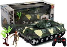 Pelegrino Tank RC KHAKI-GREEN, zvukové a svetelné efekty