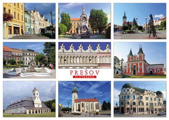 tvorme pohľadnica Prešov b152
