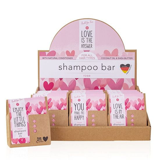 Accentra Just for You stały szamponRose (Shampoo Bar) 60 g