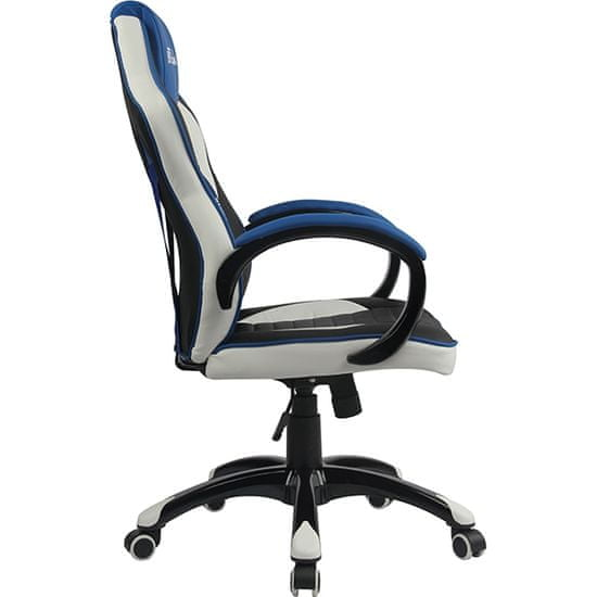 Bytezone Racer Pro gamerska stolica, crna, siva, plava
