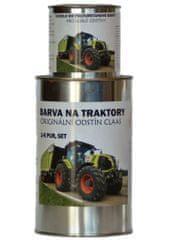 BARVY NA TRAKTORY Originálne farby na traktory CLAAS, 2-Komponentný PUR, SET s tužidlom, SVETLE ZELENÁ, 1,25kg SET