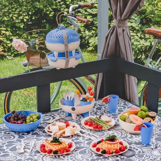 Skaza Pick&Go piknik in kamping set za 4 osebe