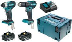 Makita komplet akumulatorskega orodja DLX2221JX2