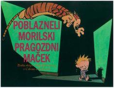 Bill Waterson: Calvin in Hobbes: Poblazneli morilski pragozdni maček, mehka vezava