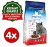 PreVital Naturel briketi za odrasle mačke, s govedinom, 4 x 1,4 kg