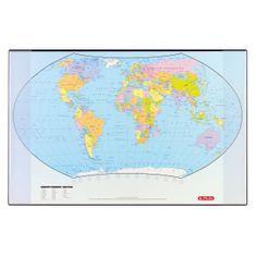 Herlitz namizna podloga, svet, 68 x 44 cm
