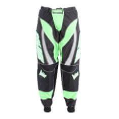BOLDER 42 Kalhoty Motocross zelená velikost 40