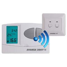Avansa 2007 TX - Bezdrôtový programovateľný termostat
