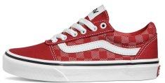 Vans gyerek sportcipő YT Ward Checker Dot VN0A38J93RU, 30, piros