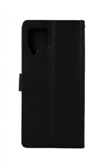 TopQ Púzdro Samsung A42 Flipové čierne s prackou 55605