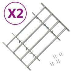 shumee Nastavljive okenske rešetke z 2 prečkama 1000-1500 mm
