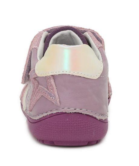 D-D-step 063-932 barefoot tenisice za djevojčice, koža