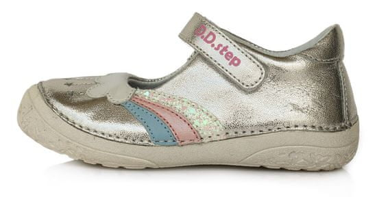 D-D-step 030-60 dekliški usnjeni sandali