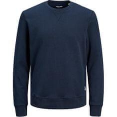 Jack&Jones Plus Bluza męska JJEBASIC 12182567 Navy Blaze r (Rozmiar 6XL)