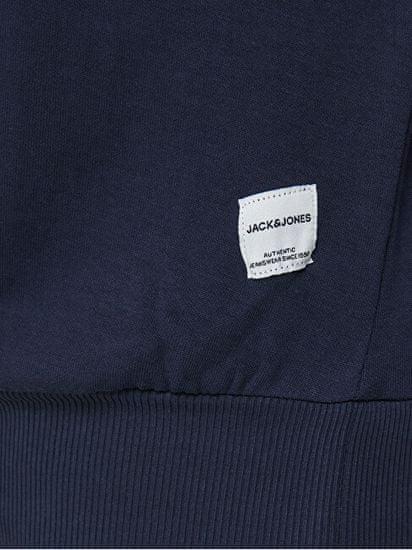 Jack&Jones Plus Férfi sportfelső JJEBASIC 12182567 Navy Blazer