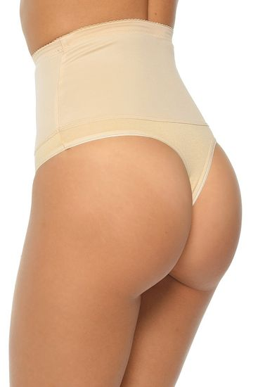 Mitex Női alakformáló fehérnemű Iga beige + Nőin zokni Gatta Calzino Strech