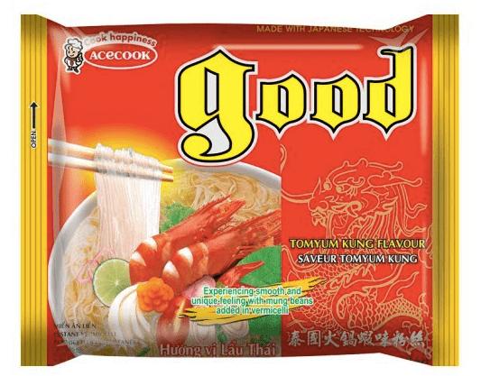 Acecook Vina Acecook Good instantní polévka TOMYUM 60g krevety